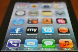iphone skärm
